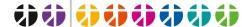 einfarbige Logos für MAVen